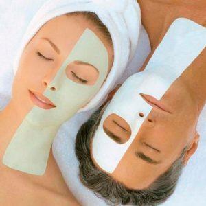 Limpieza facial profunda o masaje de relajación